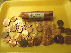 2000 D CIRCS ROLL OF CENTS        >>COMBINED SHIPPING<<