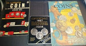 OLD COIN BOOK LOT 1963 1987 1957