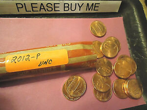 2012 P LINCOLN CENT UNC ROLL            WE COMBINE SHIPPING