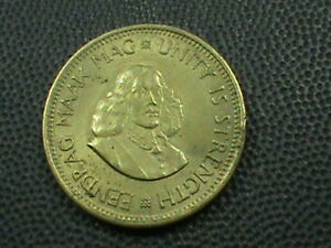 SOUTH AFRICA   1/2 CENT   1963      $ 2.99  MAXIMUM  SHIPPING  IN  USA