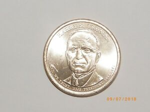 2015 P HARRY S TRUMAN PRESIDENTIAL DOLLAR FROM MINT ROLL
