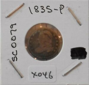 1835 10C CAPPED BUST DIME   NICE COIN FOR COLLECTORS   X046