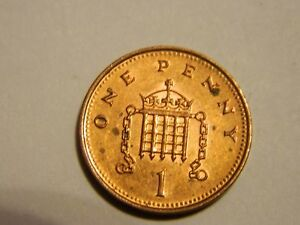 1994 GREAT BRITAIN ONE PENNY    LOT 3