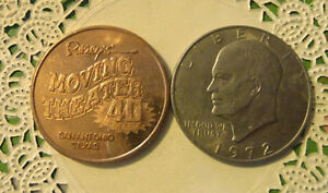 COMMERATIVE LARGE/DOLLAR SIZE /HEAVY MEDAL/TOKEN /RIPLEY'S TEXAS  10