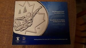 THE VANCOUVER 2010 CIRCULATION COIN HOLDER