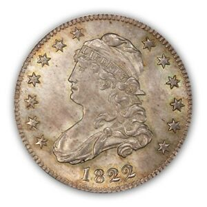 Click now to see the BUY IT NOW Price! 1822 25C BROWNING 1 CAPPED BUST QUARTER PCGS MS65