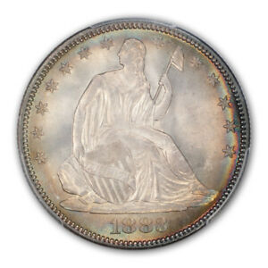 Click now to see the BUY IT NOW Price! 1883 50C LIBERTY SEATED HALF DOLLAR PCGS MS67   CAC