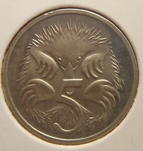 1993 5 CENT PROOF COIN REMOVED FROM PROOF SET