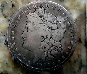 1885 S $1 MORGAN SILVER DOLLAR BETTER DATE 1618