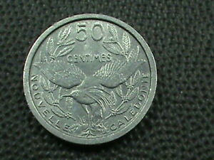 NEW CALEDONIA   50 CENTIMES   1949   UNC       $ 2.99 MAXIMUM SHIPPING IN USA