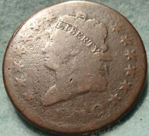 1810 VG CLASSIC LIBERTY LARGE CENT GREAT DETAIL    DATE