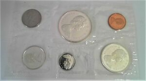 1968 ROYAL CANADIAN MINT SILVER PROOF SET SEALED