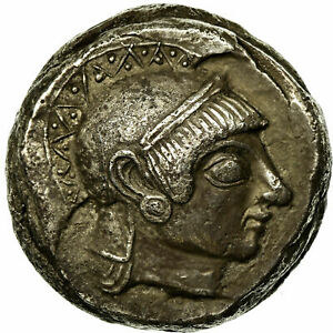 Click now to see the BUY IT NOW Price! [513276] COIN ATTICA ATHENS TETRADRACHM 500/490 485/0 BC SILVER