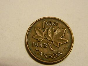 1942 George Vi Small Cent Mintage Photos Specifications Errors Varieties Grading And Much More