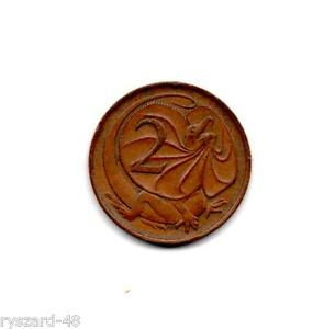 AUSTRALIA  1967     2 CENT COIN     BRONZE