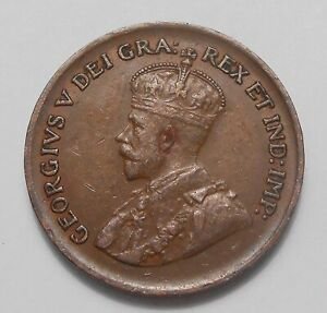 1928 SMALL CENT EF NICE HIGH GRADE SHARP DETAILS KING GEORGE V OLD CANADA PENNY