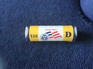 2009 D ROLL PUERTO RICO QUARTER MINT WRAPPED $10