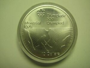 Click now to see the BUY IT NOW Price! 1976 BU $10 1976 MONTREAL OLYMPICS 21 FIELD HOCKEY COIN ONLY CANADA .925 SILVER