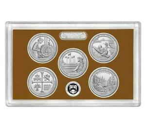 100     2019 S CLAD PROOF FIVE QUARTER ATB SET NO BOX OR COA