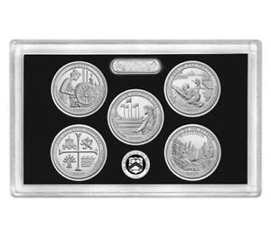 Click now to see the BUY IT NOW Price! 100  2019 S SILVER PROOF FIVE QUARTER ATB SET NO BOX OR COA  99.9 SILVER