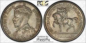 Click now to see the BUY IT NOW Price! 1934 35 AUSTRALIAN CENTENARY PROOF FLORIN GRADED BY PCGS PR62