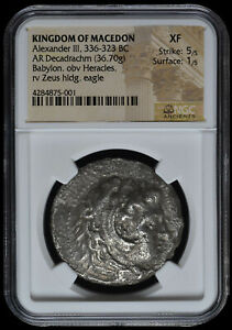 Click now to see the BUY IT NOW Price! ALEXANDER III THE GREAT 336 323 BC DECADRACHM SILVER GREEK COIN NGC DEKADRACHM