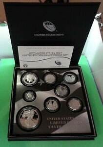 Click now to see the BUY IT NOW Price! 2017 S UNITED STATES MINT LIMITED EDITION COMPLETE SILVER PROOF EAGLE SET