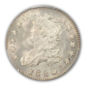 Click now to see the BUY IT NOW Price! 1820 25C LARGE 0 CAPPED BUST QUARTER PCGS MS65   CAC