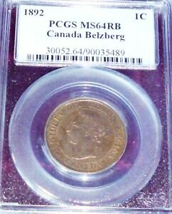 Click now to see the BUY IT NOW Price! 1892  CANADA CENT      PCGS MS64