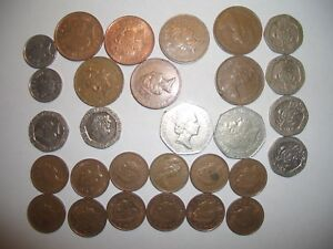 WORLDWIDE FOREIGN COIN COLLECTION: EUROPE ASIA AMERICAS MIDDLE EAST; 60 COINS