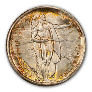 Click now to see the BUY IT NOW Price! OREGON 1937 D 50C SILVER COMMEMORATIVE PCGS MS68