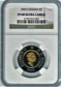 Click now to see the BUY IT NOW Price! CANADA 2003 CANADIAN QUEEN ELIZABETH BIMETAL $2 DOLLAR COIN TOP 4