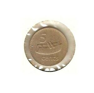 1975 FIJI COIN 5 CENT