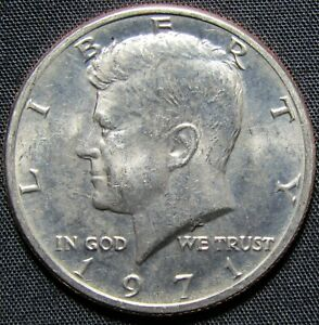 1971 US KENNEDY HALF DOLLAR COIN