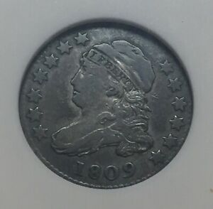 Click now to see the BUY IT NOW Price! 1809 10C CAPPED BUST DIME VF ANACS