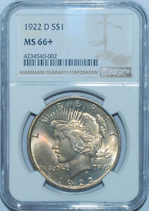 Click now to see the BUY IT NOW Price! 1922 D NGC MS66  PEACE DOLLAR