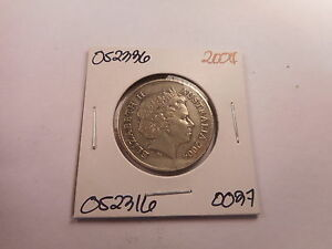 2004 AUSTRALIA 20 CENTS   LOW PRICE UNSLABBED COLLECTOR COIN RAW    052336