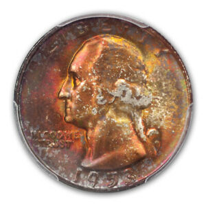 Click now to see the BUY IT NOW Price! 1953 S 25C WASHINGTON QUARTER PCGS MS68