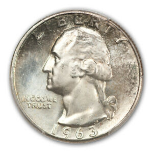 Click now to see the BUY IT NOW Price! 1963 25C WASHINGTON QUARTER PCGS MS67