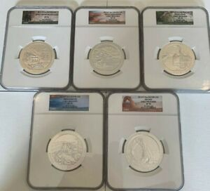 Click now to see the BUY IT NOW Price! 2014 P AMERICA THE BEAUTIFUL ATB 5OZ COMPLETE SET NGC SP70 EARLY RELEASES