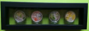 Click now to see the BUY IT NOW Price! CANADA 2013 2014 MAPLE CANOPY LEAF FULL 4 COIN $20 SILVER COIN SET SPRING AUTUMN