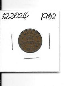 1932 CANADIAN SMALL CENT    122024