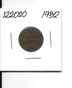 1932 CANADIAN SMALL CENT    122020