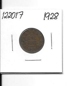1928 CANADIAN SMALL CENT    122017