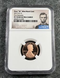 2019 W PROOF LINCOLN CENT NGC PF70 RD ULTRA CAMEO FIRST RELEASE WEST POINT MINT