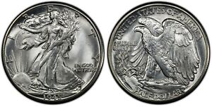 Click now to see the BUY IT NOW Price! 1945 D PCGS MS 67  CAC WALKING LIBERTY HALF  WELL STRUCK  BLASTWHITE  TOP NOTCH