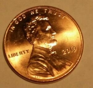 TWO   2019   LINCOLN .CENTS SHIELD PENNY PHILADELPHIA NEW MINT LUSTER