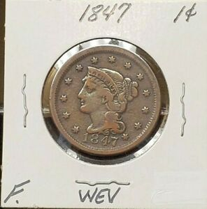 1847 LARGE ONE CENT