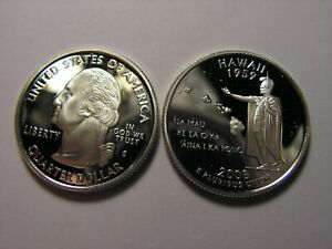 2008   S STATE QUARTER HAWAII PROOF SILVER. LOOKS TO BE IN UNC. 65/70 CONDITION