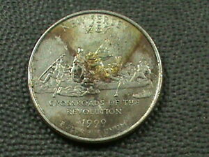 UNITED  STATES   25 CENTS   1999 P   NEW  JERSEY  COLORIZED